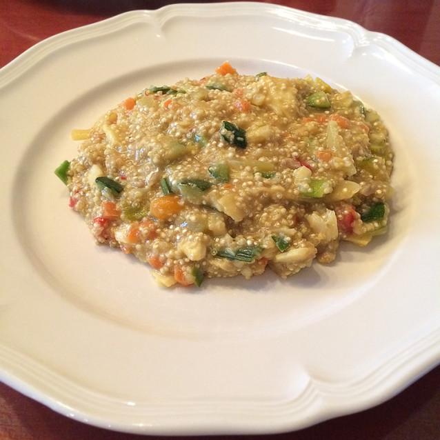 Visragout met quinoa