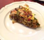 Hartige taart kip kerrie