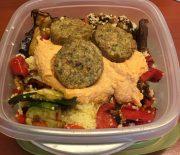 Snelle Falafel lunch salade